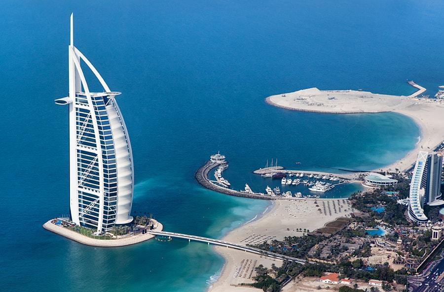 The Sail building, Dubai, UAE