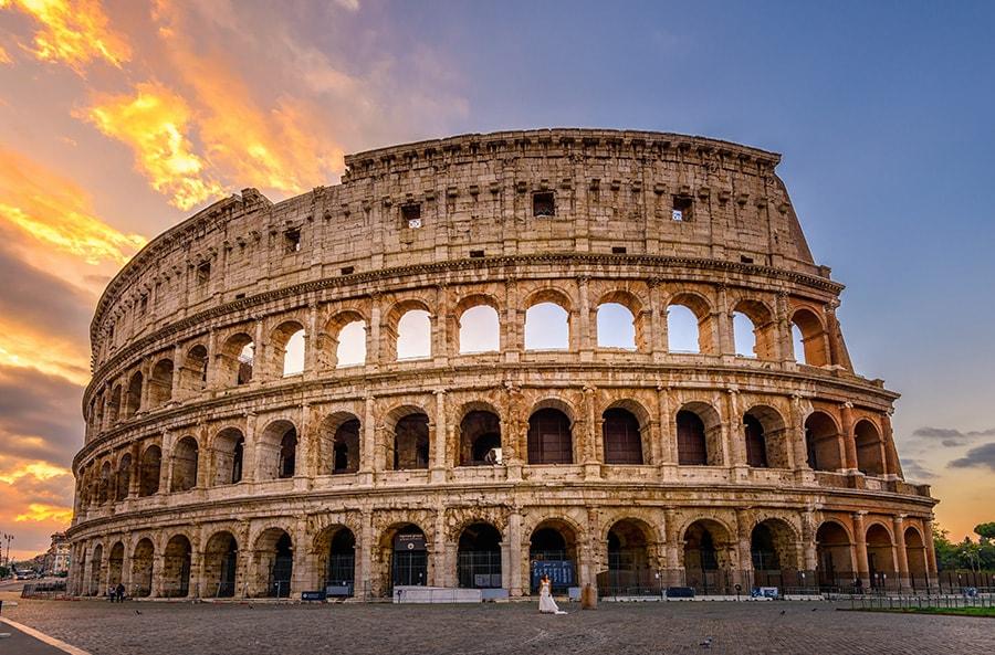 Amphitheatre, Rome, Italy